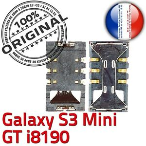ORIGINAL-Samsung-Galaxy-S3-Mini-GT-i8190-Connecteur-Lecteur-Carte-SIM-a-souder