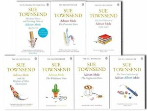 Sue-Townsend-Adrian-Mole-8-Books-Collection-Set-The-Prostrate-year-Growing-Pains