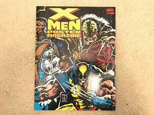 MARVEL-COMICS-POSTER-BOOK-X-MEN-MAGAZINE-2-1993-JIM-LEE-SCOTT-WILLIAMS-LIEFELD