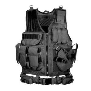 Adjustable Tactical Military Airsoft Molle Combat Army O2I3 H2O5 Ves Super Q4P4