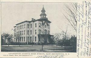 NEW-BRUNSWICK-NJ-Livingston-Avenue-High-School-udb-1905