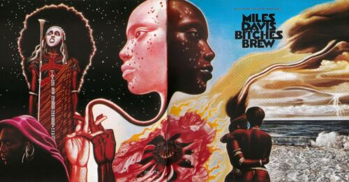 "Miles Davis BITCHES BREW 18/"" x 36/"" Large JAZZ Poster"