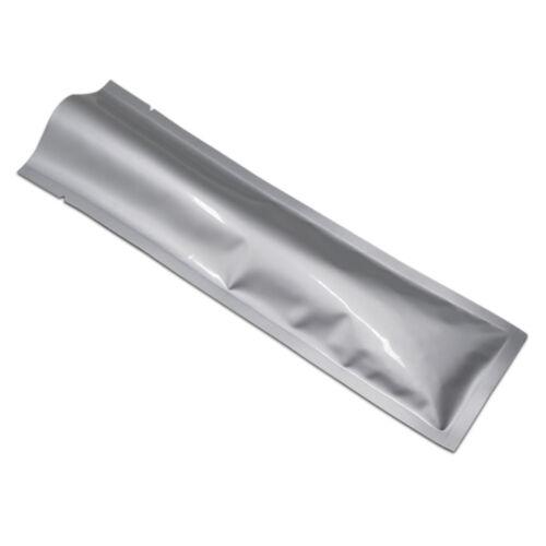 FoodVacBags Silver Aluminum Foil Mylar Heat Seal Vacuum Bag Food Storage