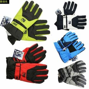 Men-Winter-Sport-Warm-Waterproof-Snow-Motorcycle-Snowmobile-Snowboard-Ski-Gloves