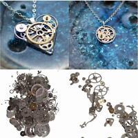 1-5x 50g Steampunk Watch Parts Jewellery Altered Crafts Cyberpunk Cogs Gears DIY