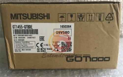 1PCS Brand New Mitsubishi GOT1000 GT1455-QTBDE Hmi Graphic Operation Terminal