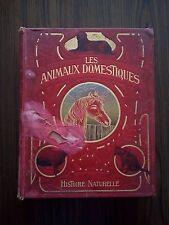 LES ANIMAUX DOMESTIQUES HISTOIRE NATURELLE DE VOOGT FLAMMARION PARIS