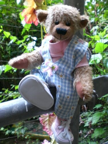 Sohlenlänge 7 cm für Bär/Puppe Endlich wieder da Turnschuhe,Jaguarmuster