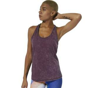 Reebok-Womens-Dance-Crossfit-Washed-Purple-Tank-Top-WOD-Fitness-Small-New