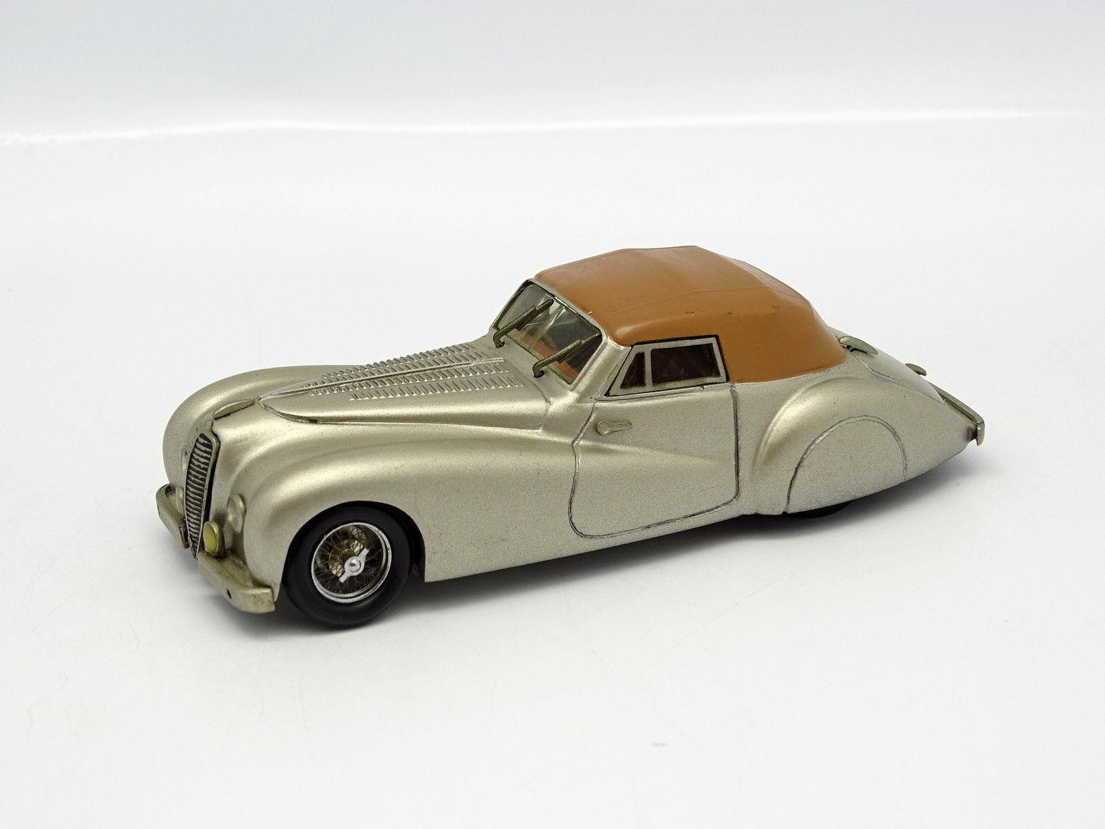 Belle Epoque Kit Monté 1/43 Delahaye 135 MS 1948 Pourtout Grise | Bonne Conception Qualité