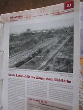 Das war die DR Streckenentz 3.1 Südbahnhof in Berlin