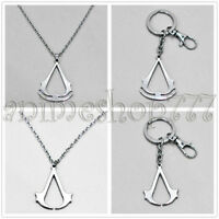 Assassin's Creed Cosplay Brotherhood Ezio Necklace Keychains Free Shipping