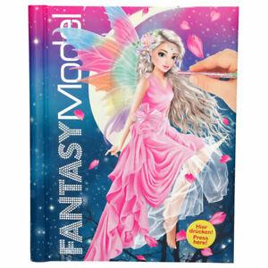 Details Sur Top Model Livre De Coloriage Modele Fantaisie Avec Del Et Sonore Avec Autocollants 43433 Afficher Le Titre D Origine