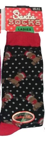 Men  Ladies Christmas Socks Novelty Socks Stocking Filler Xmas Gift