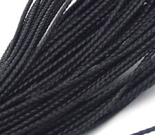 Genuine Round Leather Cord for DIY Jewelry Necklace Bracelet Making String &&