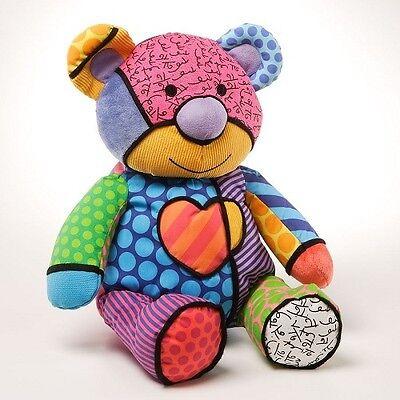 Romero Britto -Plüsch -4024916 Tallulah Teddy- Bär-Medium 38 cm