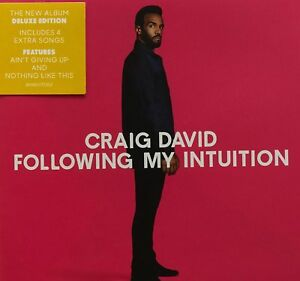 Craig-David-Following-My-Intuition-2016-CD-Deluxe-Edition-NEW-SPEEDYPOST