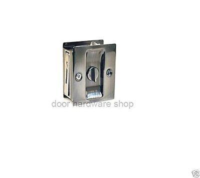 POLISHED CHROME POCKET DOOR PULL PRIVACY BYPASS SLIDING DOORS Deltana SDL25U26