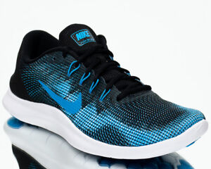 3239fc0ae647 Nike Flex 2018 Run Men Black Equator Blue Run Shoes Last size 7