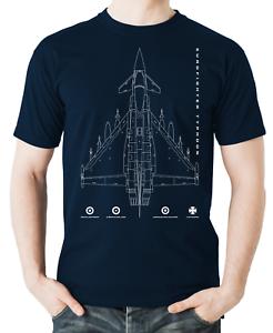 Flyingraphics aviation themed T Shirt /'Eurofighter Typhoon/'