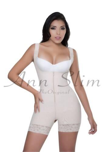 Shapewear for Women Faja Colombiana Powernet zipper Butt Lifter Compression NEW