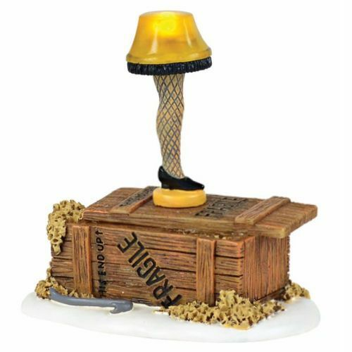 Department 56 A Christmas Story Village Lighted Leg Lamp Figurine 4057258 |  EBay