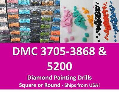 DMC 10g Round Drills Package DIY Embroidery Diamond Painting Rhinestones Craft