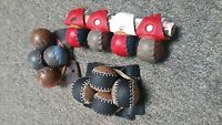 2 Sets Gamefowl Breeding Muffs Or Spur Gloves Poultry Botanas Gallos