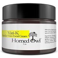 Spider Vein Face Cream Helps Clear Bruises, Redness, Rosacea 3% Vitamin K