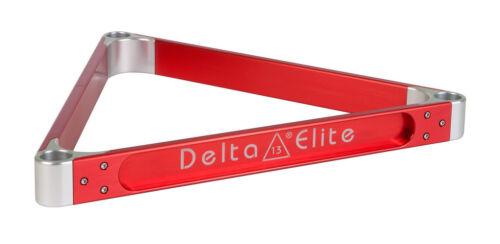 7 COLOR CHOICES Pool /& Billiards Rack NEW Delta-13 Elite Aluminum Rack