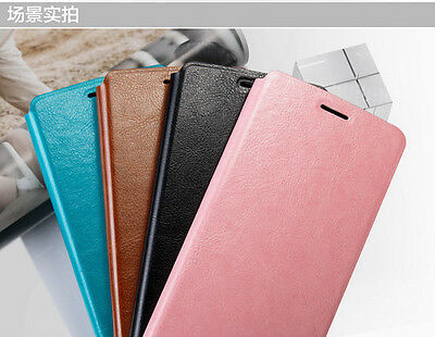Mofi Colorful Flip PU Leather Case For Oneplus 2 Two Smartphone