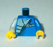 TORSO M009 Lego Male Blue Ninja Wrap - Shoulder Pouch w/yellow hands NEW Jay
