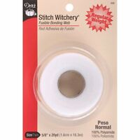 Stitch Witchery Fusible Hem Tape Fabric Craft Adhesive Sewing Clothing Trim Belt