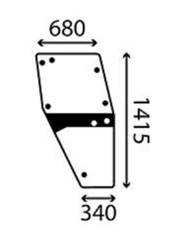 F824200710030 Einspritzdüse vergleichbar DLLA134P180 Fendt Vergl.-Nr