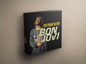 Bon-Jovi-034-Hollywood-Dreams-034-Cover-Art-Canvas-Art-Print-012329