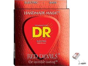 dr strings rde 9 46 light and heavy red devils electric guitar strings 9 46 600781001236 ebay. Black Bedroom Furniture Sets. Home Design Ideas