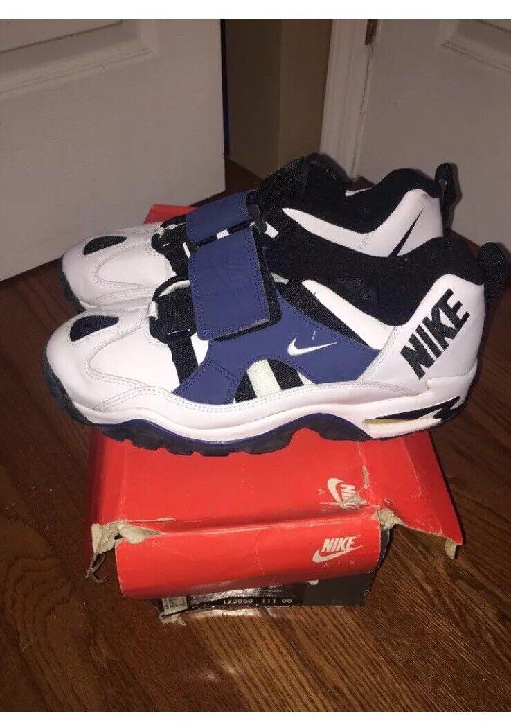 Nike Turmoil Low 9 9.5 13 OG 1994 Low White Navy Black Football Deion Sanders