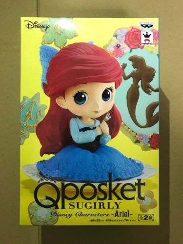 Q posket SUGIRLY Disney Characters Ariel Figure Normal Color Qposket Banpresto
