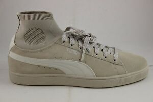 quality design 0bbf3 7ce89 Details about Puma Men's Suede Classic Sock 36407402 Birch/birch New In Box