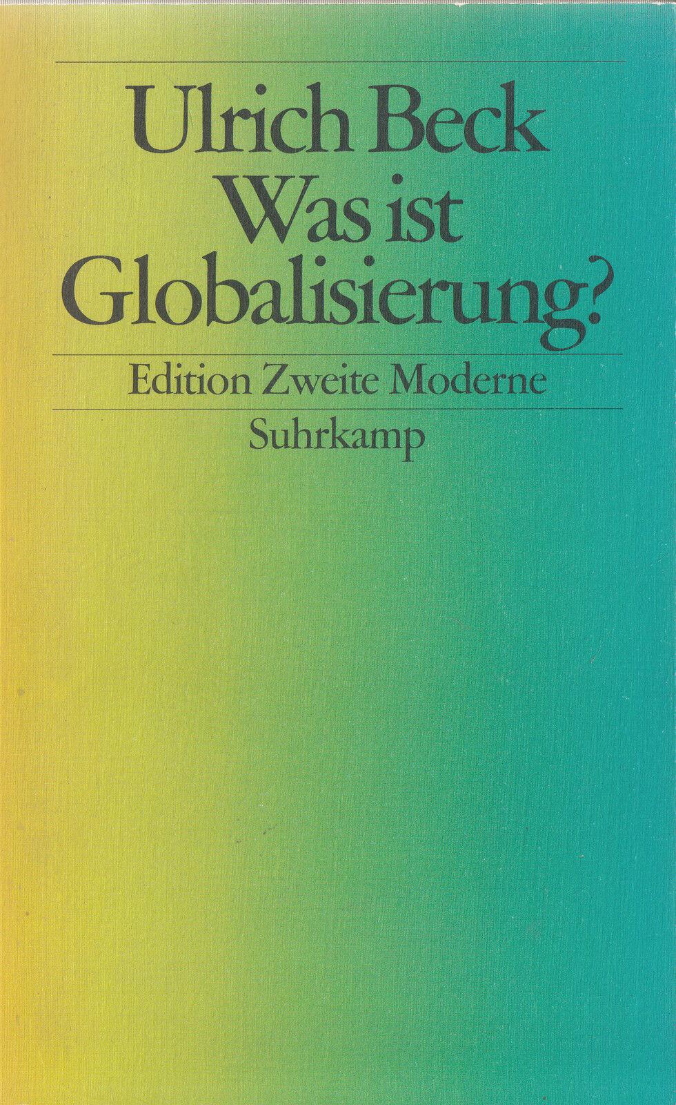 su- e ZM BECK : WAS IST GLOBALISIERUNG ? - Meine Beschreibung