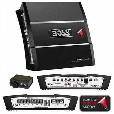 NEW 1200W FourChannel Speaker Amplifier.Subwoofer Amp.Power.Car Audio.bass 4ch