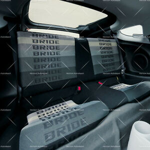 Image Is Loading JDM Gradation Bride Fabric Seat Cloth Racing Seats