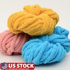 So crafty chenille velvet style chunky baby yarn wool Pineapple Slice 400g