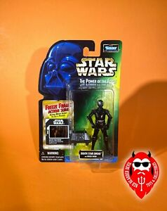 Death Star Droid 1998 STAR WARS Power of the Force POTF FF Freeze Frame