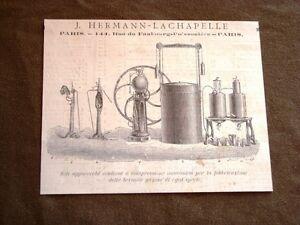 Invenzione-del-1876-Apparecchio-compressione-bevande-gassate-Hermann-Lachapelle