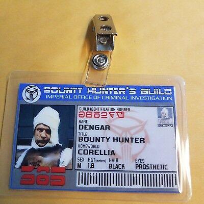 Commander Jonathan Ford Cosplay prop costume SeaQuest DSV Id Badge