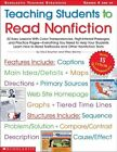 Teaching Students to Read Nonfiction Grades 4 and up 22 Easy Lessons With Colo