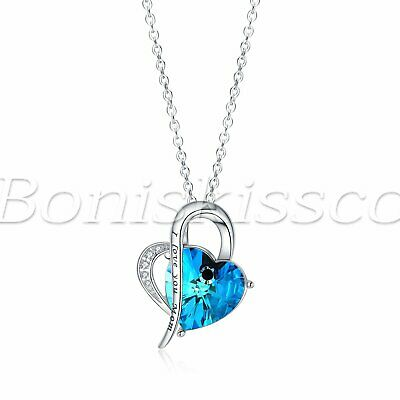 Turquoise Women 925 Sterling Silver Pendant FREE GIFT BOX