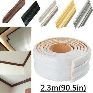 3D-Border-Stickers-Wall-Paper-Roll-DIY-Decor-Self-Adhesive-Removable-Waterproof