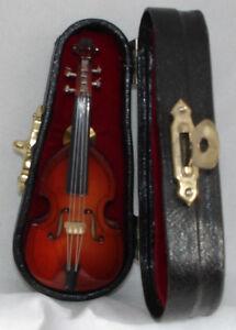 """100% Vrai Bass Replica Handmade Collectible Miniature Tie Tag Broche 2.75"""" Avec étui Noir-afficher Le Titre D'origine"""
